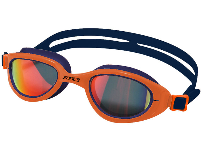 Zone3 Attack Maschera, blu/arancione
